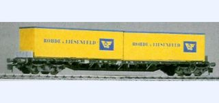RIVAROSSI DB Sssy container car