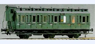 Em + El DRG C3 Pr11 coach with brake cab