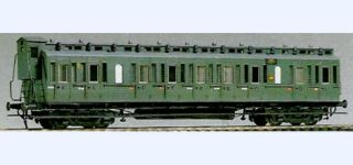 Em + El DRG C4 Pr12 coach with brake cab